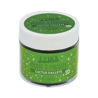 Aladine Embossing Pulver 25 ml Cactus Paillete (10201)