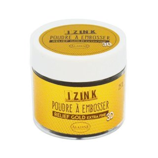 Aladine Embossing Pulver 25 ml Gold Extra Fine (10204)