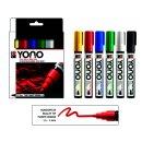 Marabu YONO Marker Set, 6 x 1,5-3 mm