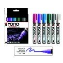 Marabu YONO Marker Set PASTEL, 6 x 1,5-3 mm