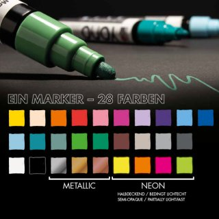 Marabu YONO Marker, Violett 251, 1,5-3 mm