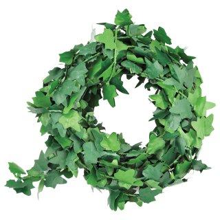 Efeu-Girlande, 3m/ Rolle, grün