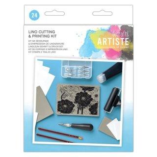 Artiste Lino Cutting & Printing Kit - Linoldruck Starterset,