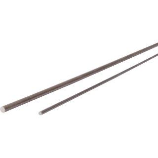 Kohlefaser, Vollstab  2 mm, 1 m lang