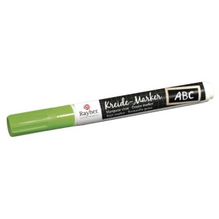 Kreide-Marker, Leucht-Grün, Keilspitze 2-6 mm
