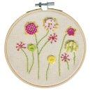 BP: Stickbild Blumen, 13cm , Box 1Stck