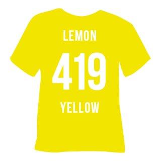 419 Zitronen Gelb